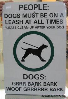 Språka på hundiska