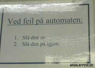 Norsk felsökning