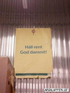 Håll rent God Dammit!